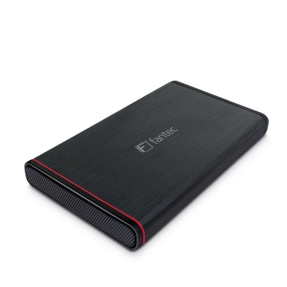 FANTEC Festplattengehäuse » 225U3-6G schwarz USB 3.0 (1661)« in schwarz