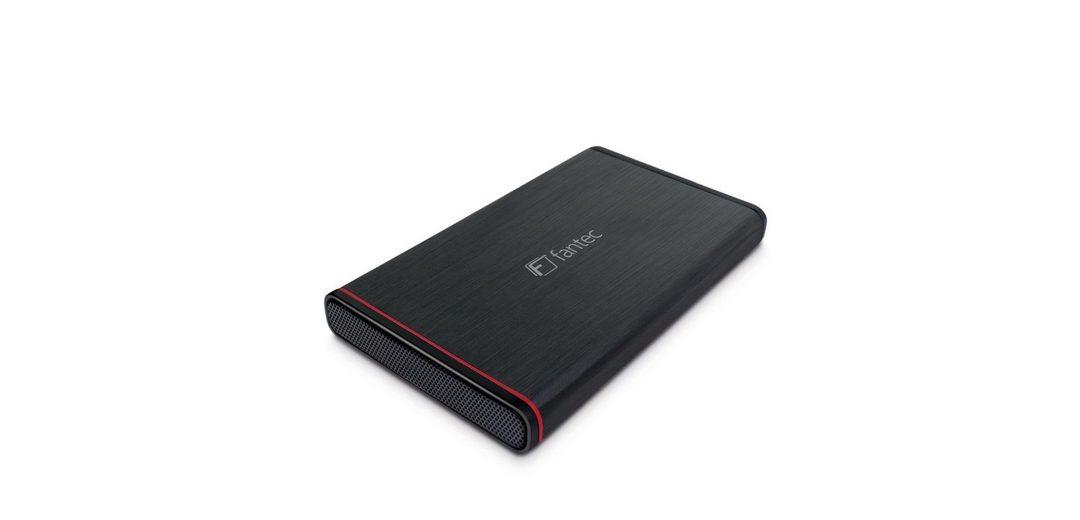 FANTEC Festplattengehäuse » 225U3-6G schwarz USB 3.0 (1661)«