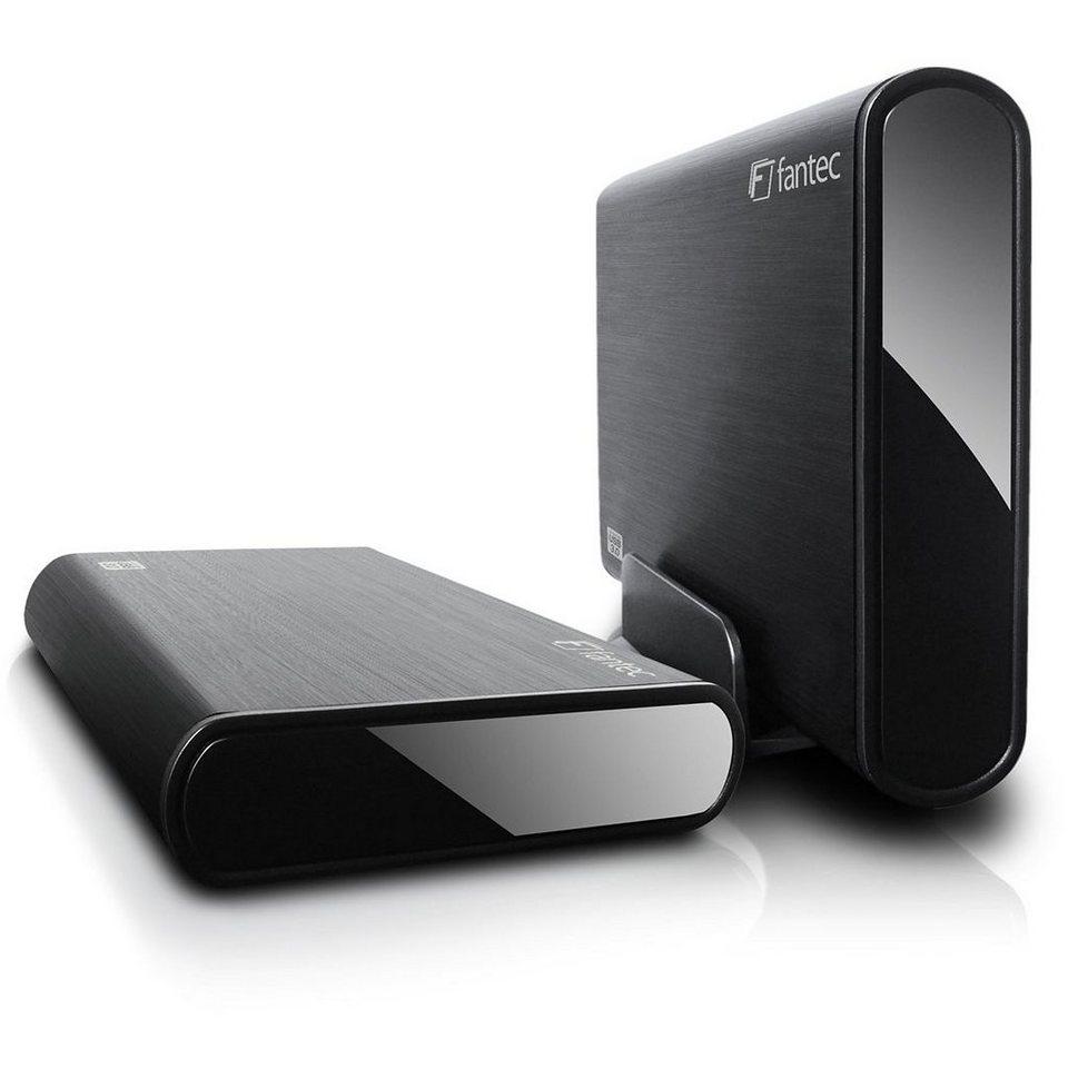 FANTEC Festplatte » DB-ALU3 USB 3.0 (14343)« in schwarz