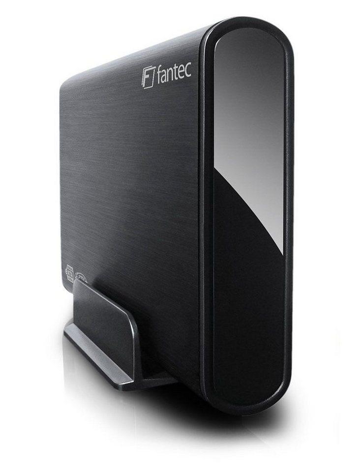 FANTEC Festplatte » DB-ALU2e schwarz 1TB (14461)« in schwarz