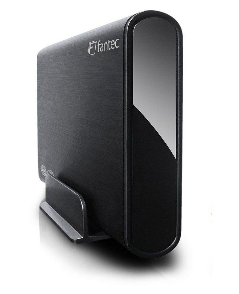 FANTEC externe Festplatte » DB-ALU2e (14463)« in schwarz