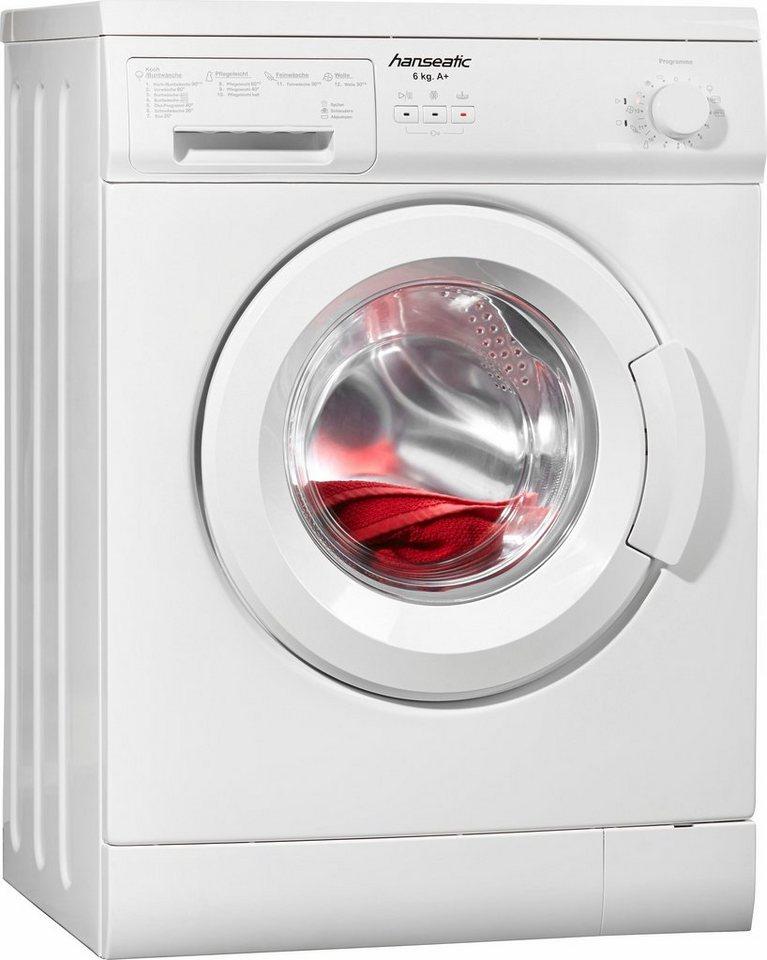 hanseatic waschmaschine hwm610a1 6 kg 1000 u min otto. Black Bedroom Furniture Sets. Home Design Ideas