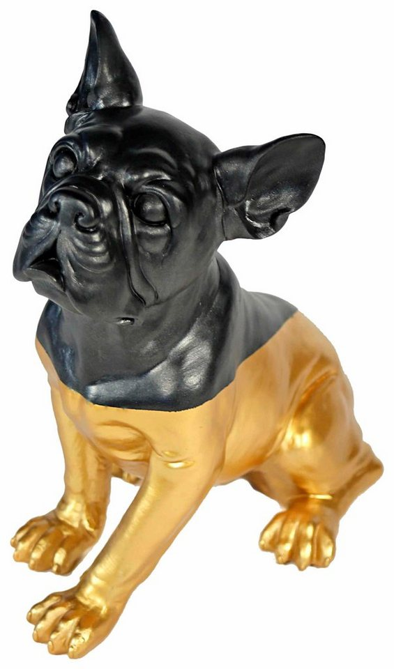 Premium collection by Home affaire Dekofigur »Mops sitzend« in gold