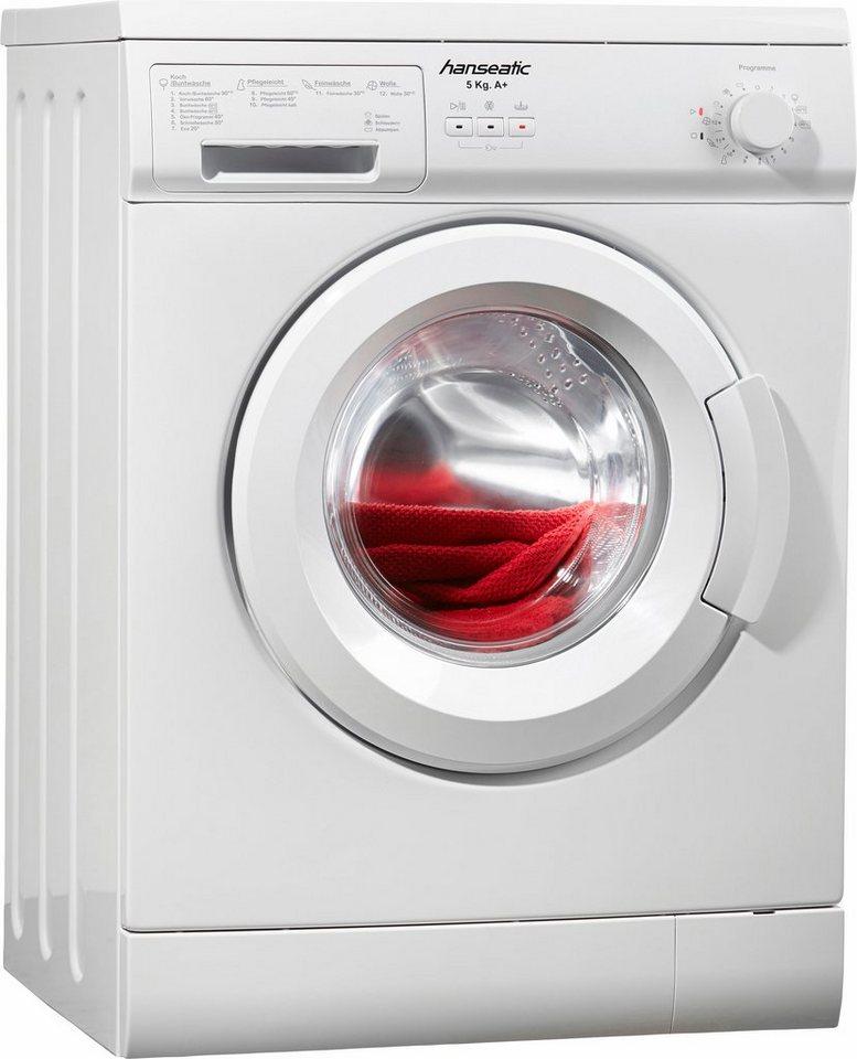 hanseatic waschmaschine hwm510a1 5 kg 1000 u min otto
