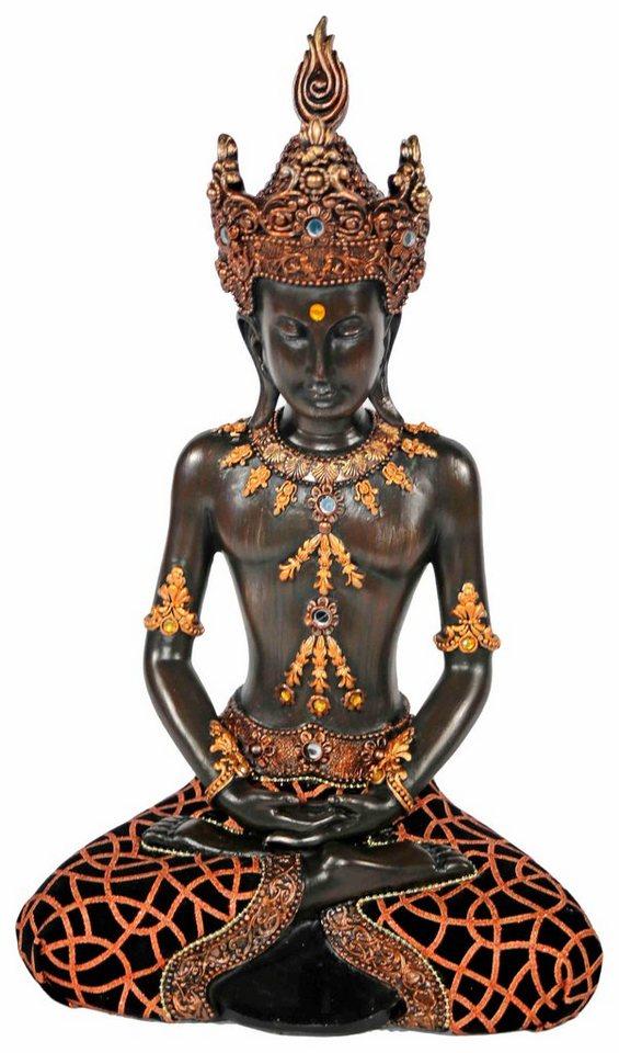 Home affaire Dekofigur »Buddha« in braun
