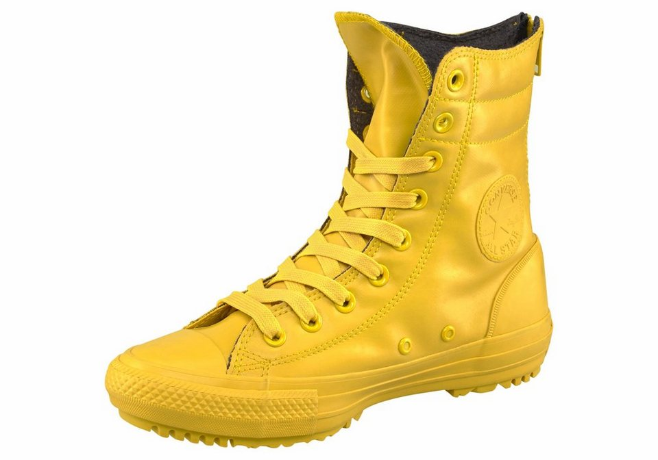 Converse CTAS Hi-Rise Boot Rubber Stiefel in Gelb