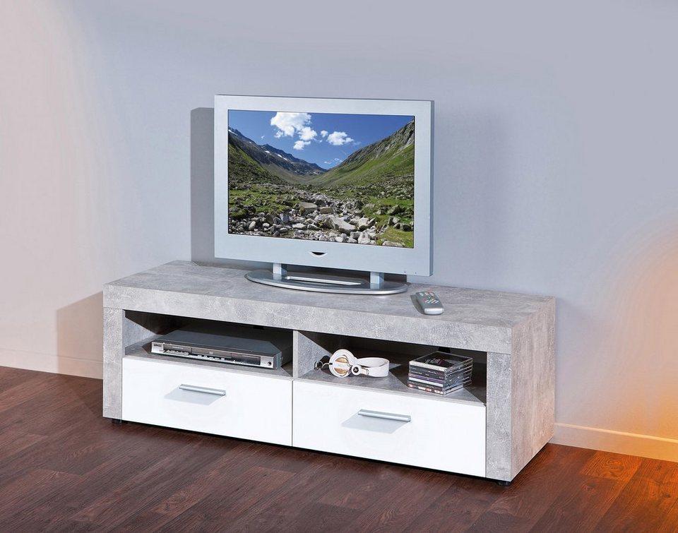 tv lowboard breite 134 cm online kaufen otto. Black Bedroom Furniture Sets. Home Design Ideas