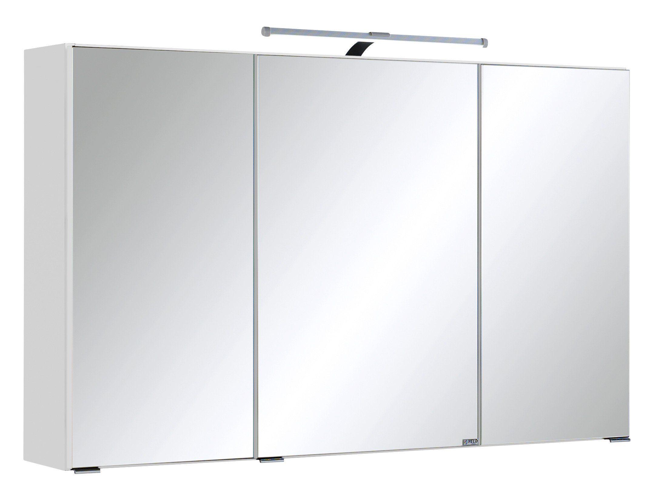 Extremely Held Möbel Spiegelschrank »Cardiff« Breite 100 cm, mit LED  CA49
