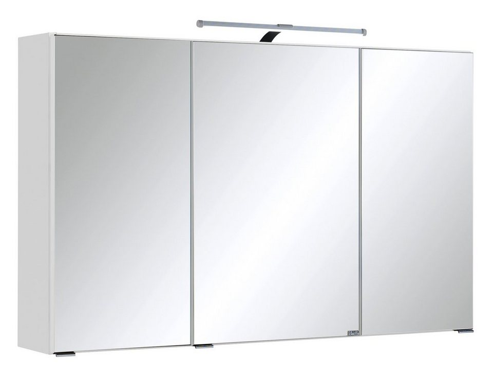 held m bel spiegelschrank cardiff breite 100 cm mit led beleuchtung online kaufen otto. Black Bedroom Furniture Sets. Home Design Ideas