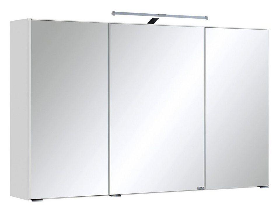 Spiegelschrank »Cardiff« Breite 100 cm, mit LED-Beleuchtung in weiß