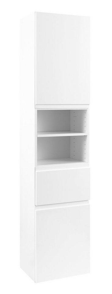 Hochschrank »Cardiff«, Breite 40 cm in weiß