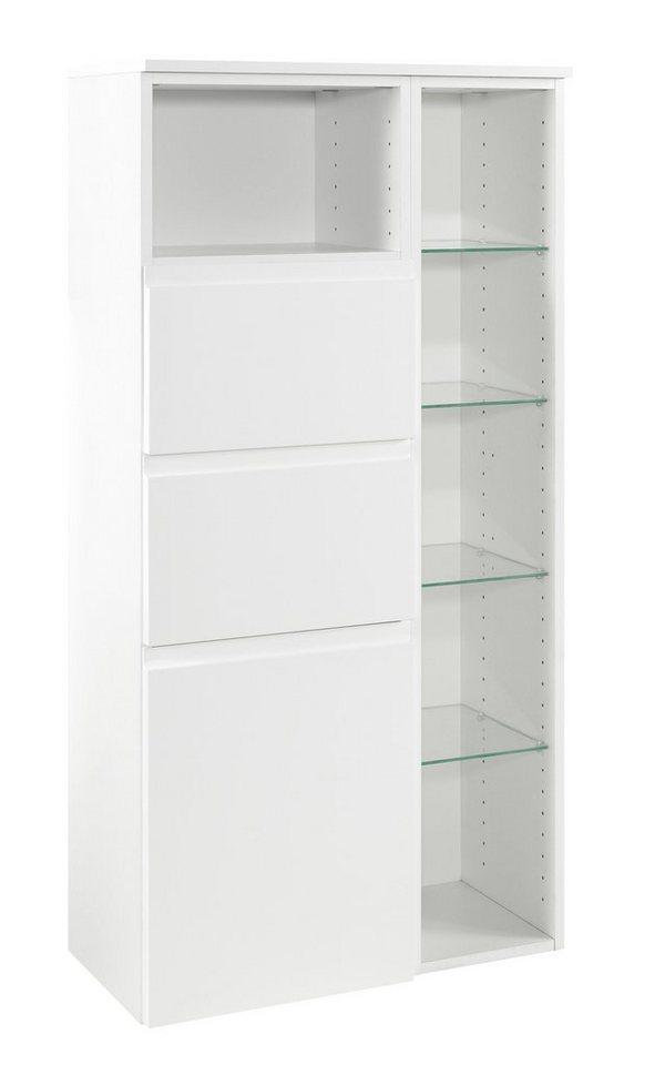 Held Möbel Midischrank »Cardiff«, Breite 65 cm in weiß