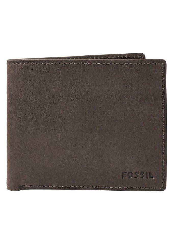 Fossil Geldbörse »NOVA LARGE COIN POCKET« aus Leder in braun