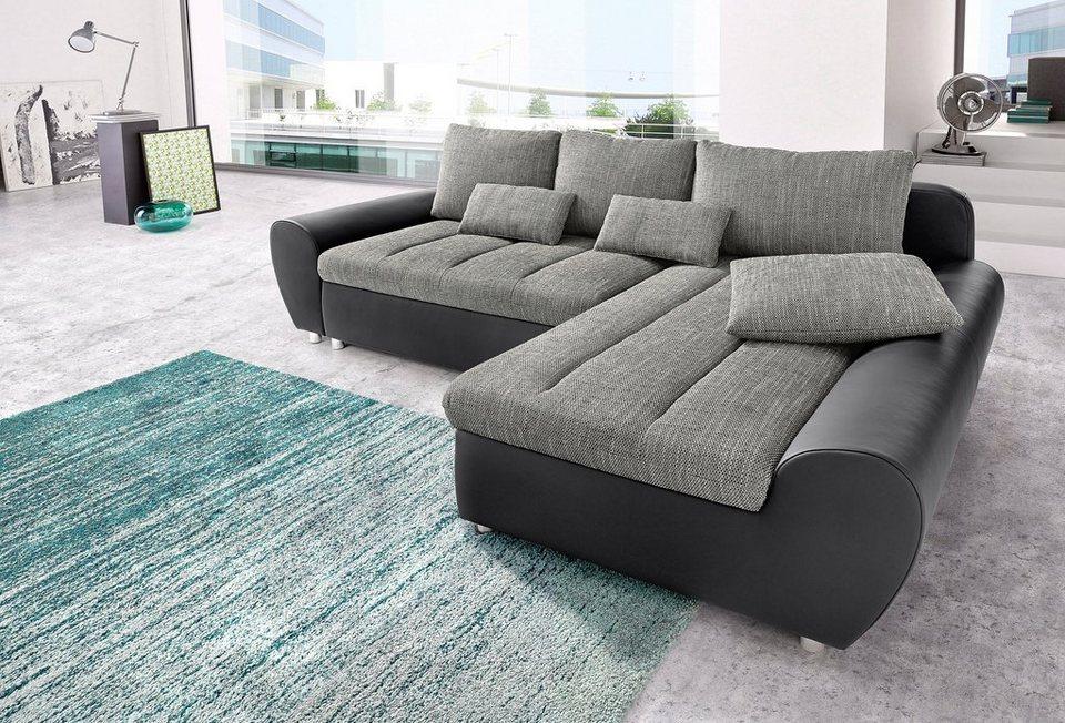 sit more polsterecke bandos wahlweise mit bettfunktion in 1 bezugsqualit t online kaufen otto. Black Bedroom Furniture Sets. Home Design Ideas