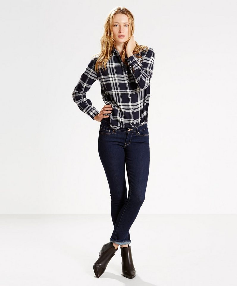 Levi's® Jeans »711 Skinny« in Lone Wolf