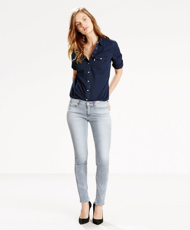 Levi's® Jeans »711 Skinny« in Stone Canyon