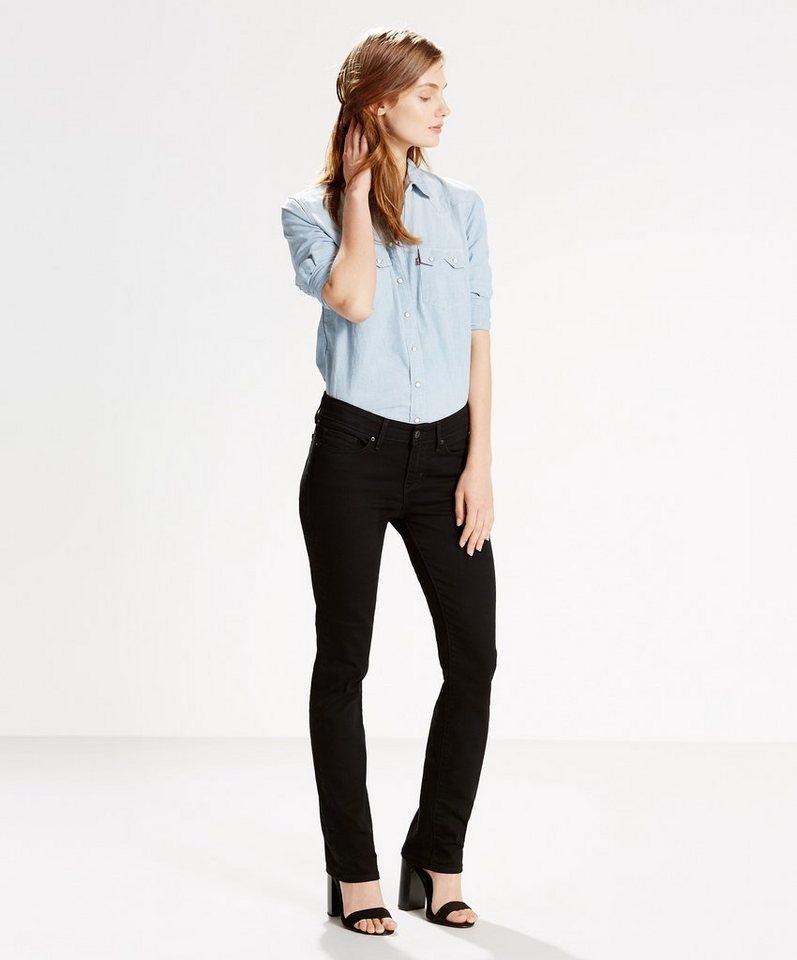 Levi's® Jeans »712 Slim« in Black Sheep
