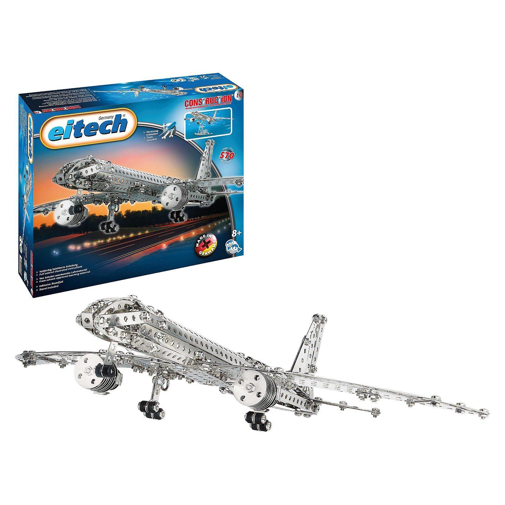 "Eitech C10 KLASSIKER Metallbaukasten - ""Flugzeug"""