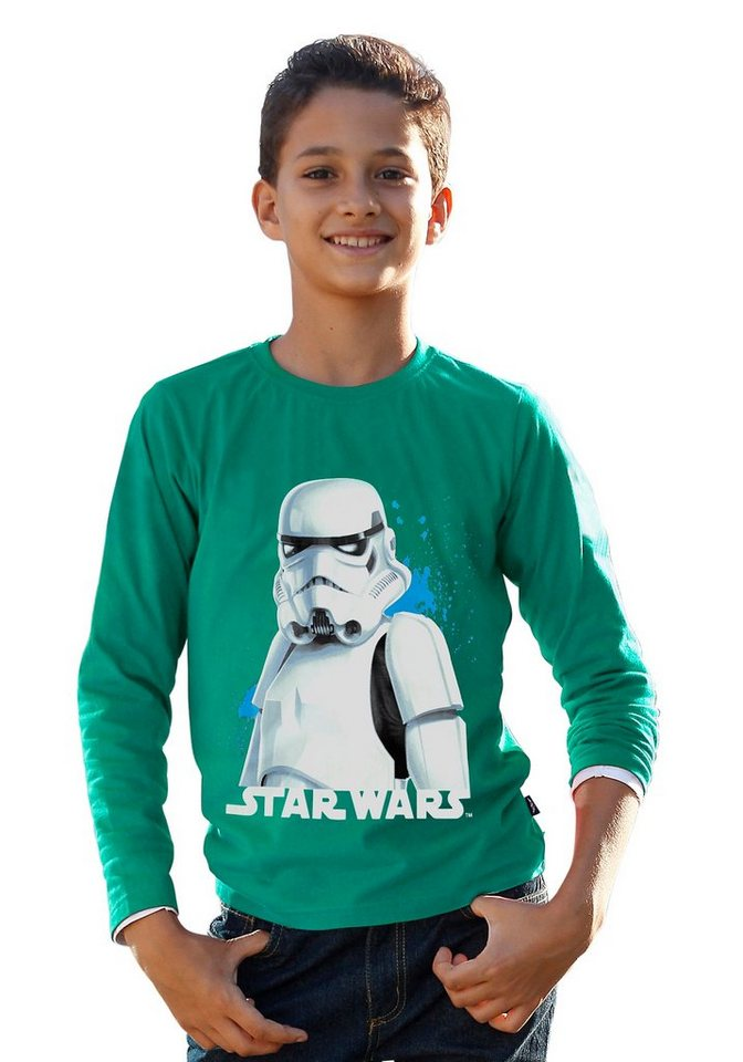 Star Wars Langarmshirt in grün
