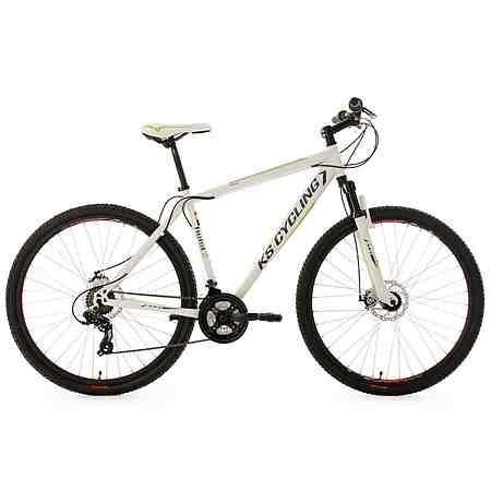 KS Cycling Hardtail Mountainbike, 29 Zoll, weiß, 21 Gang Kettenschaltung, »Heist«