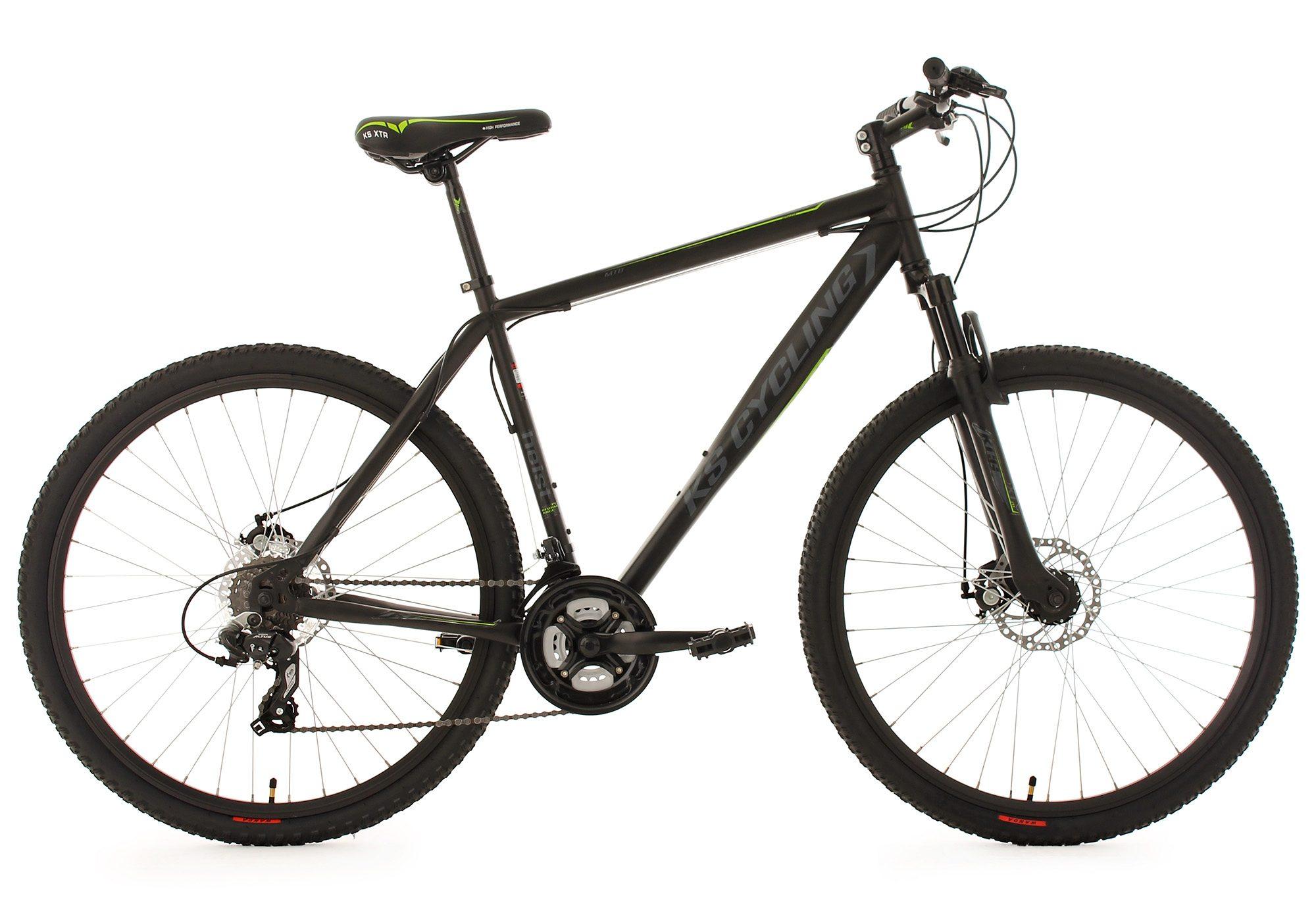 KS Cycling Hardtail Mountainbike, 27,5 Zoll, schwarz, 24 Gang Kettenschaltung, »Heist«