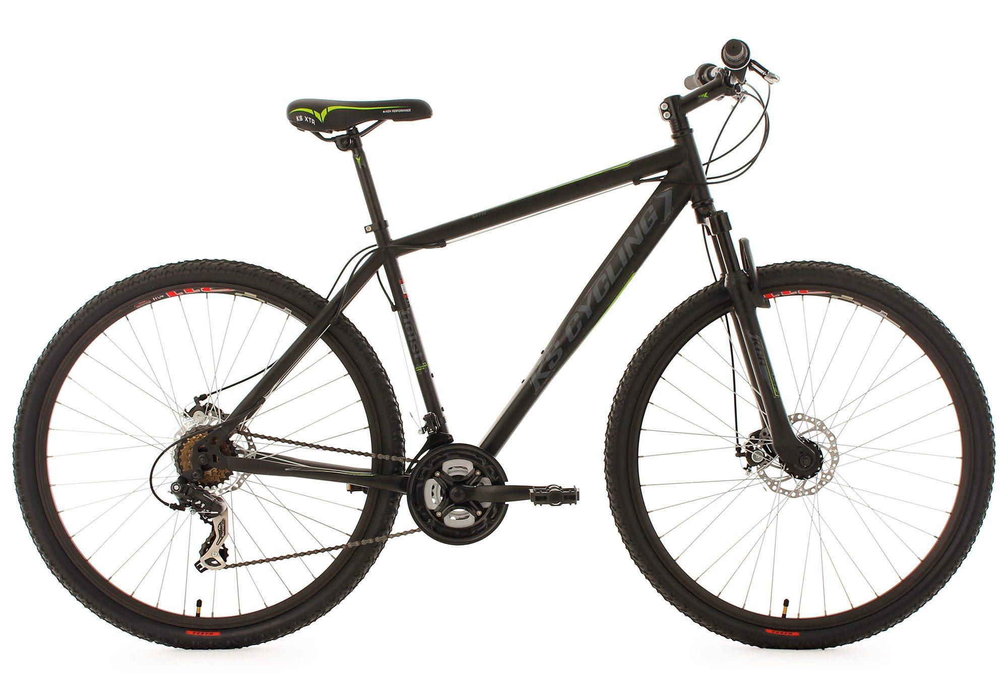 KS Cycling Hardtail Mountainbike, 29 Zoll, schwarz, 21 Gang Kettenschaltung, »Heist«
