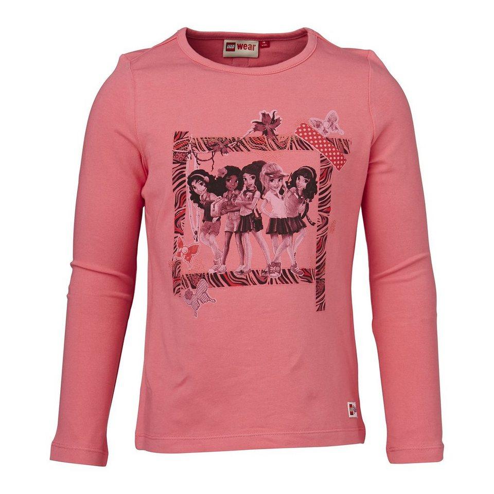 "LEGO Wear Friends Langarm-T-Shirt Tanisha ""Five Girls"" Shirt in pink"
