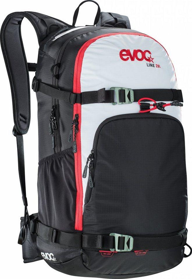 Evoc Sport- und Freizeittasche »Line 28L black/white« in schwarz
