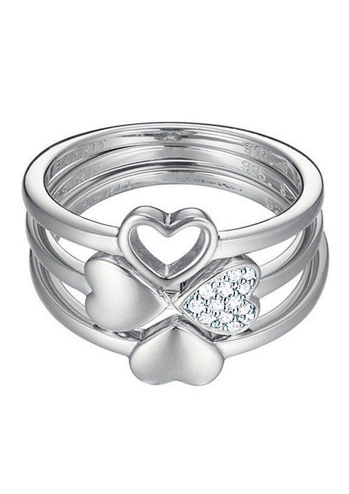 """ESPRIT Ring """"ESPRIT-JW50026, ESSE91014A"""" in Silber 925"""