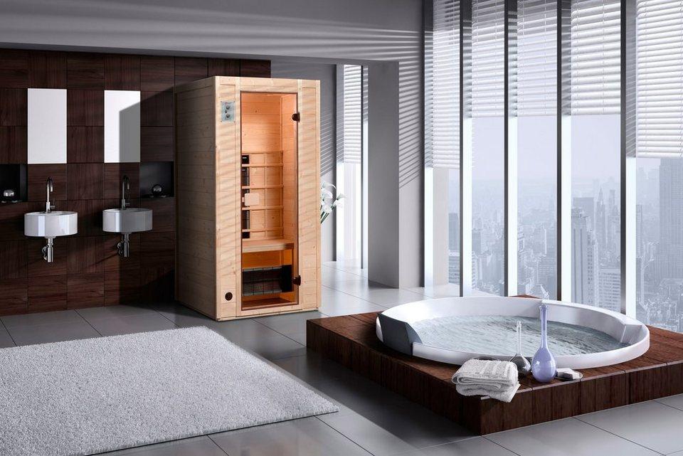 weka infrarotkabine provoo 1 102 100 190 cm 19 mm geeignet f r 1 person online kaufen otto. Black Bedroom Furniture Sets. Home Design Ideas