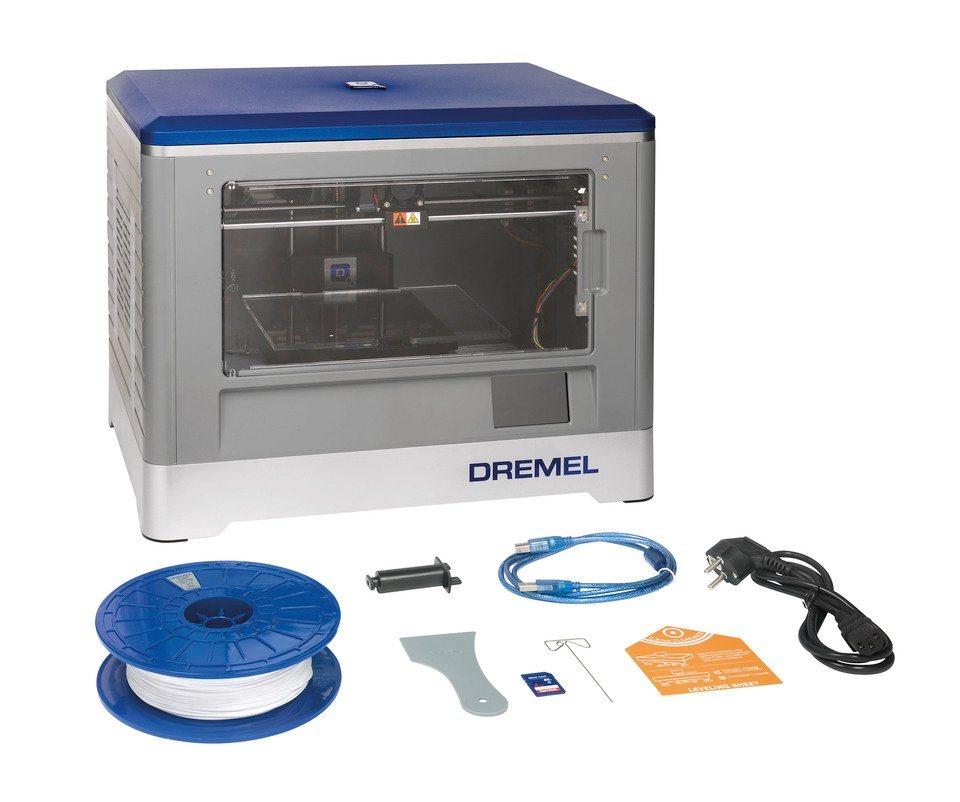 3D-Drucker »3D Idea Builder« in grau