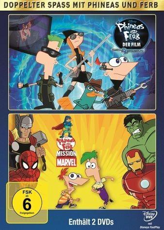 DVD »Phineas and Ferb - Der Film: Quer durch die 2....«