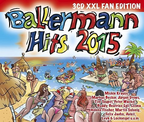 Audio CD »Various: Ballermann Hits 2015 (XXL Fan Edition)«