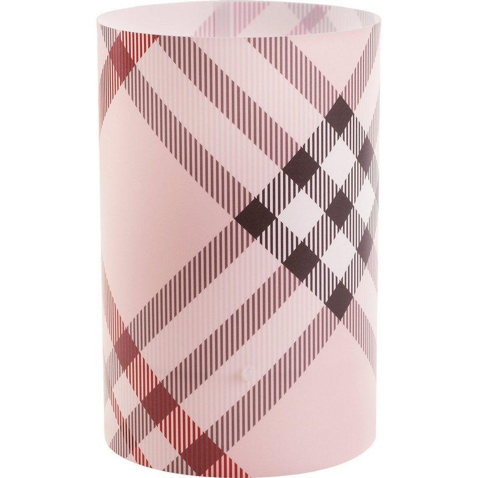 Dalber Tischlampe Streifen, rosa in rosa