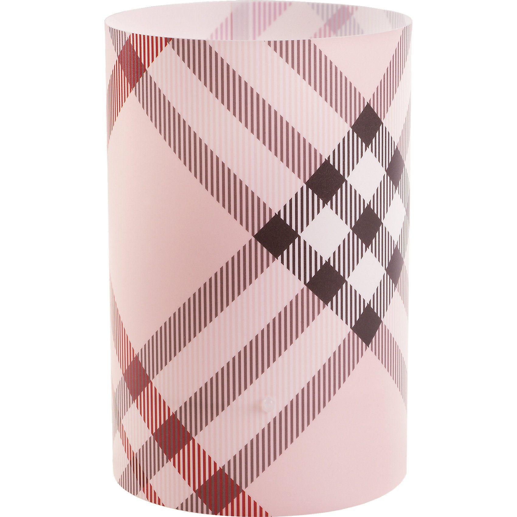 Dalber Tischlampe Streifen, rosa