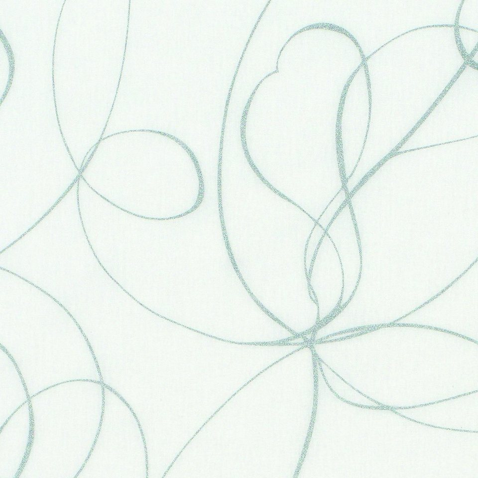 Schiebegardine, Gardinia, »Curling«, mit Klettband, mit weißen Paneelwagen (1 Stück mit Zubehör) in weiß-grau
