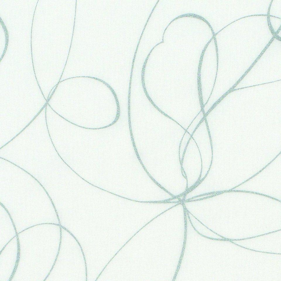 Schiebegardine, Gardinia, »Curling«, mit weißen Paneelwagen (1 Stück mit Zubehör) in weiß-grau