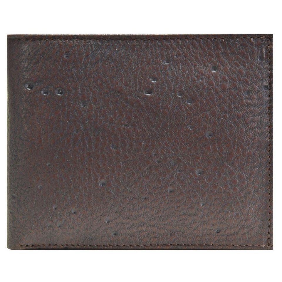 JOST Carlo Geldbörse Leder 12 cm in braun