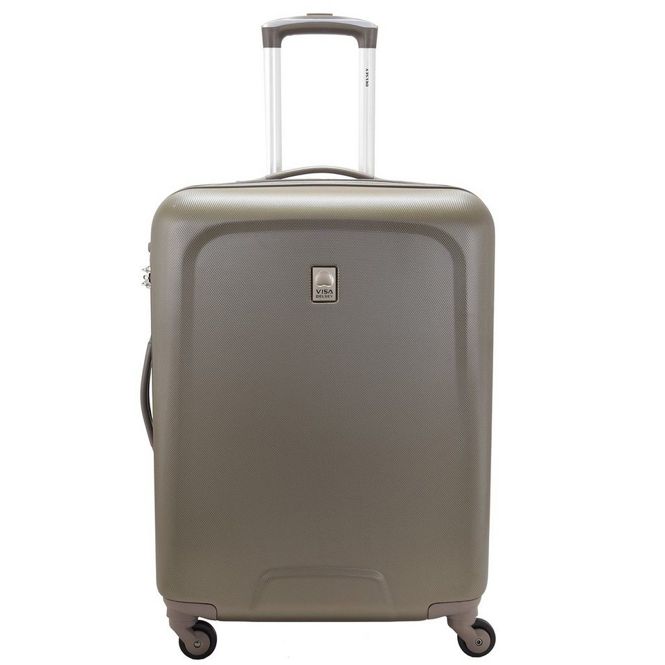 Delsey Visa Space 4-Rollen Trolley 67 cm in chesnut