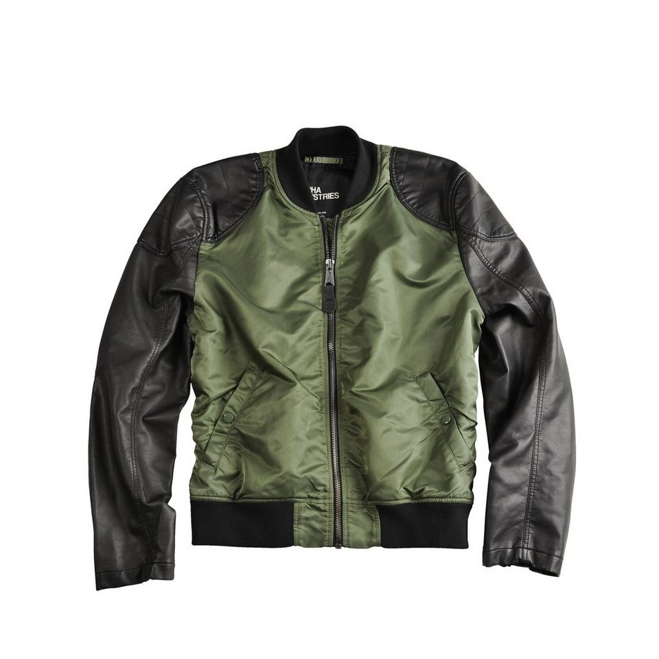 ALPHA INDUSTRIES Jacke »Dirt Bike« in sage-green