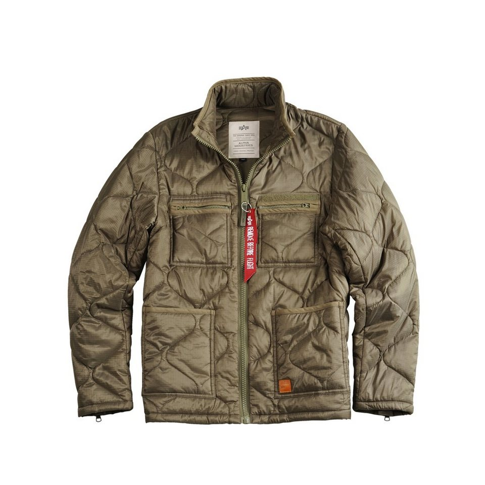 ALPHA INDUSTRIES Jacke »ALS Jacket« in olive