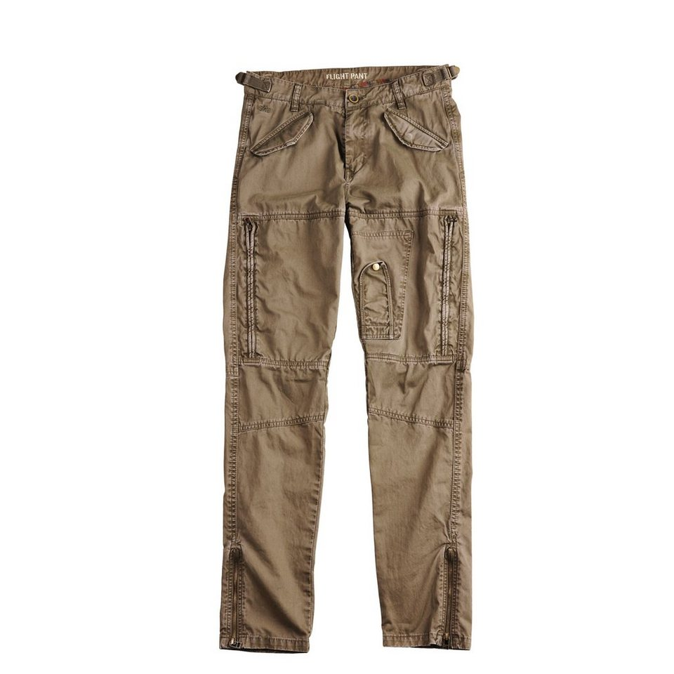 ALPHA INDUSTRIES Hose »Flight Pant VF« in olive