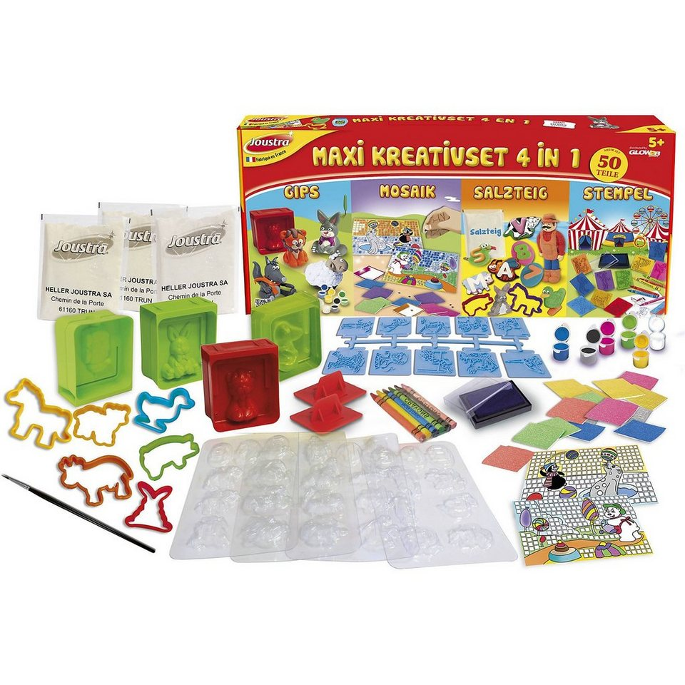 Glow2B Kreativset Maxi 4 in 1