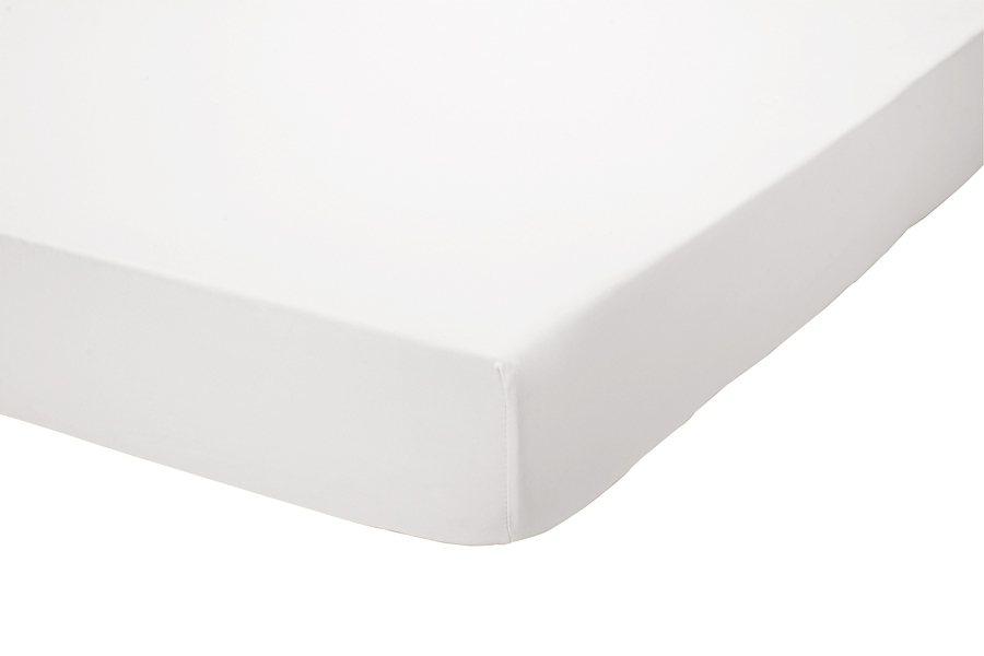 heine home Spannbetttuch Jersey in weiß