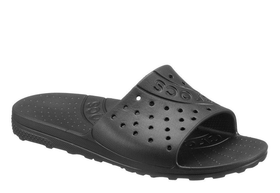 Crocs Pantolette zum Baden in schwarz