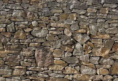 Fototapete, Komar, »Stone Wall«, 368/254 Cm
