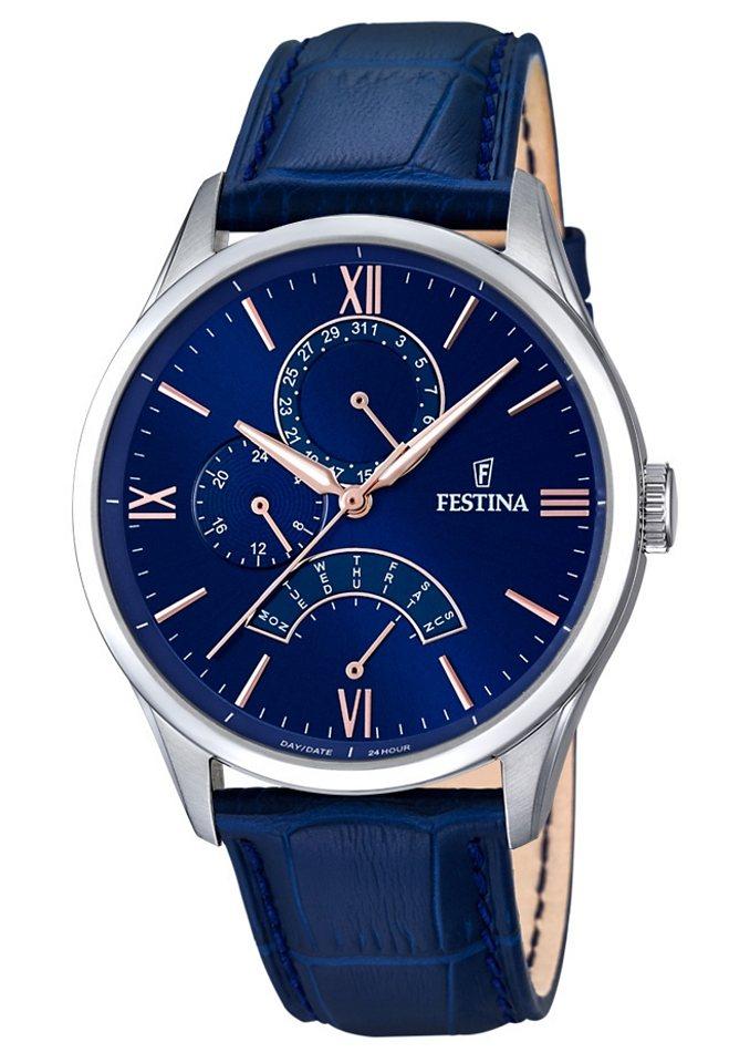 Festina Multifunktionsuhr »F16823/3« in blau