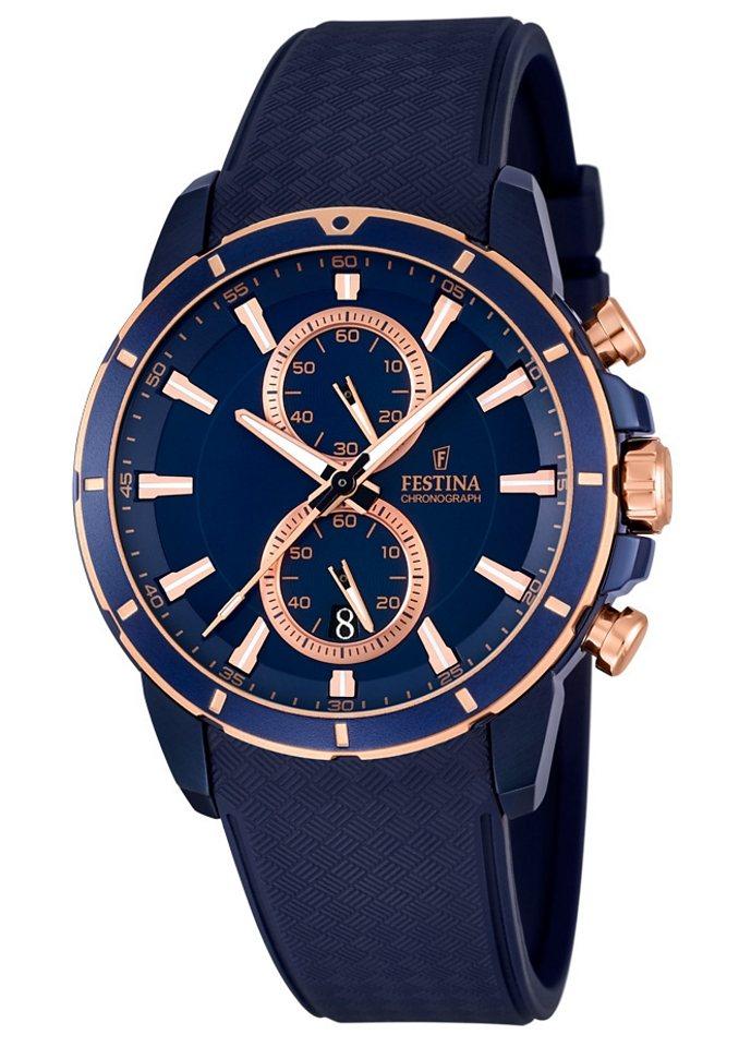 Festina Chronograph »F16851/1« in blau