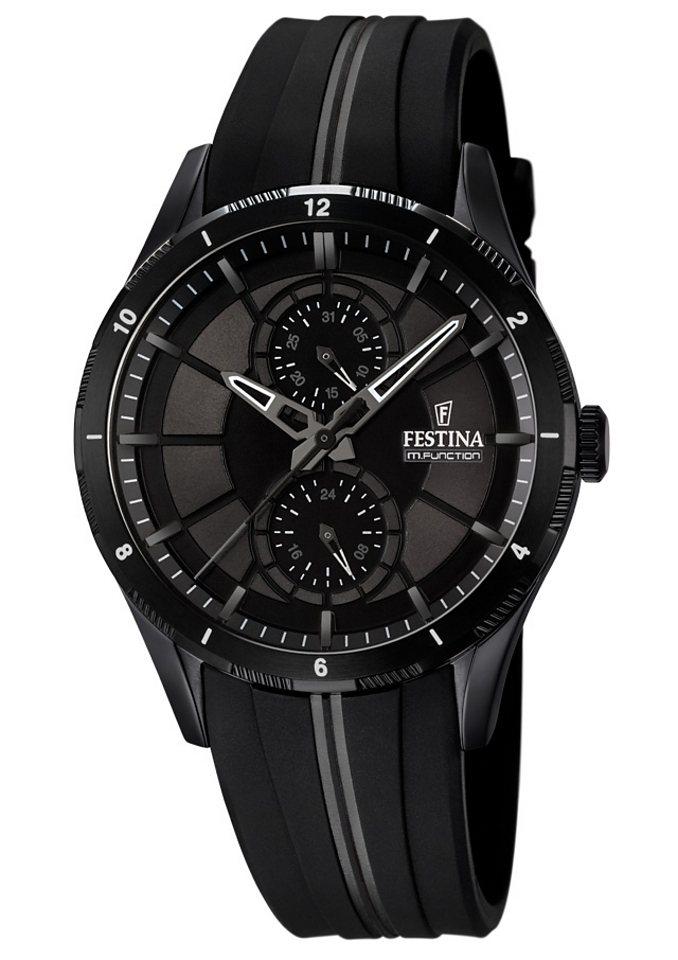 Festina Multifunktionsuhr »F16843/1« in schwarz
