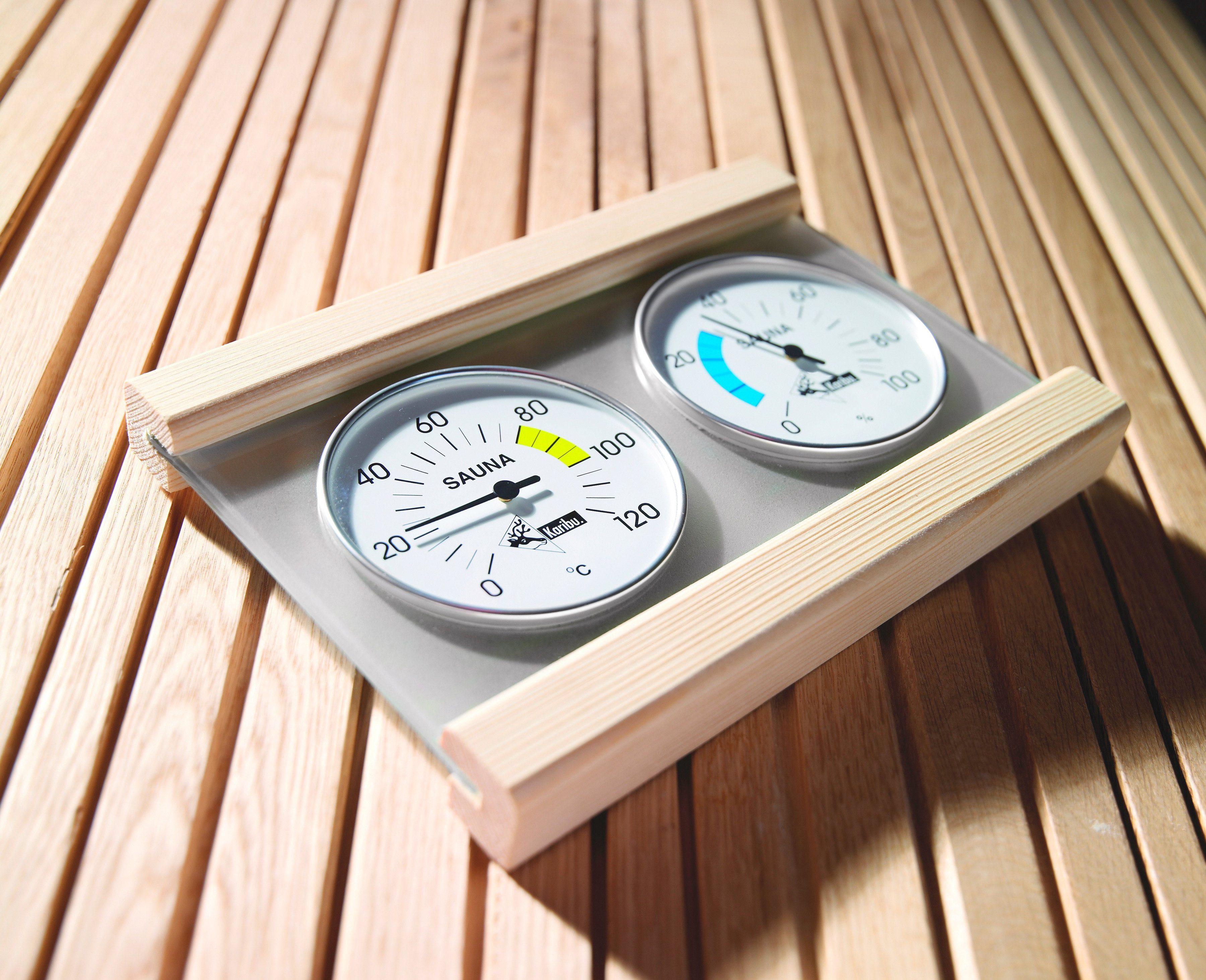 Karibu Klimamessstation »Premium«, mit Thermometer und Hygrometer